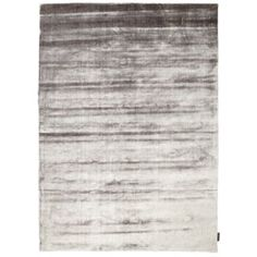 Linie Design Lucens Silver Rug | Plain Rugs | Living Room | Heal's