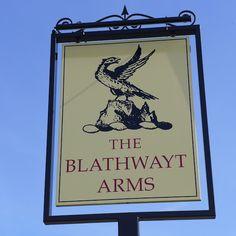 Pub Sign Art a la cARTe: The Blathwayt Arms - Bath, Somerset