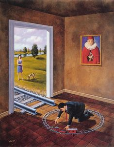 Rafal Olbinski..  love it