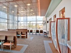 Another waiting room design example. In this day and age, should we still have to design waiting rooms?