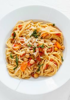 One-Pot Spaghetti with Chickpeas and Carrots | 17 Of The Most Delicious Things You Can Do To Spaghetti