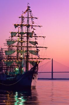 Tall Ships and Ravenel Bridge | Amazing Pictures - Amazing Pictures, Images, Photography from Travels All Aronud the World
