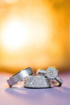 Stunning rings: http://www.stylemepretty.com/north-carolina-weddings/2014/04/11/rustic-meets-preppy-north-carolina-wedding-at-claxton-farm/ | Photography: Stephanie Yonce - http://stephanieyoncephotography.com/