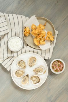 An Oyster Duo: fried