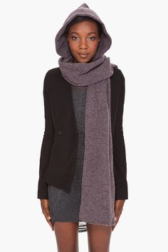 Lovely hooded scarf. By Phillip Lim