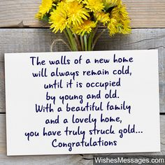 8 Best New Home Images Wishes Messages