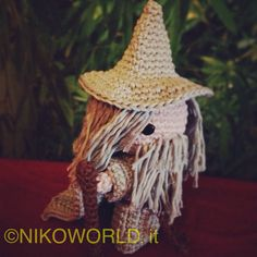 Amigurumi Gandalf from Lo Hobbit and The Lord of the Ring di NikoWorldHandmade su Etsy