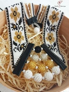 Ukrainian gerdan, Ethnic necklace, Original jewerly, Gift for hear, Good and black, Ukrainian embroidery, Beaded necklace, Handmade necklace, Flower necklace, Ukrainian style, White necklace, Folk style, Ethnic style