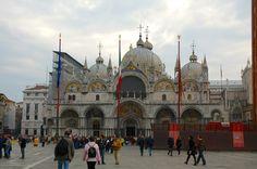 A Basílica de São Marcos.
