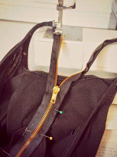 yo elijo coser: DIY: añadir cremalleras a cualquier prenda