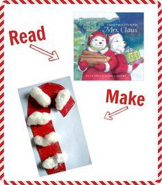Preschool Story Book Craft - Christmas