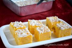 Poudine Mais is a Mauritian dessert made with corn meal. For this month's Daring Cook's challenge, Rachael of Pizzarossachallenged the cooks to try out recipes using corn meal. She provided recipes for fritters, pastry and a sweet. I selected the...