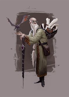elder wizard scholar familiar [mage by Dungeons And Dragons Characters, Dnd Characters, Fantasy Characters, Steampunk Characters, Character Concept, Character Art, Concept Art, Fantasy Rpg, Medieval Fantasy