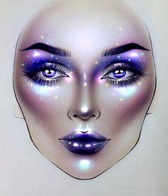 "12.3k Likes, 67 Comments - Sergey X (@milk1422) on Instagram: ""#artist@milk1412 ✨ #mylove #myart #myartistcommunity #myartistcommunityrussia #makeup…"""