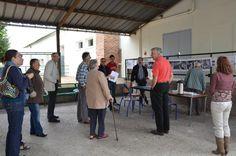 Le 15 septembre 2013, l'association La Machinerie participe à l'organisation des journées européenne du patrimoine à l'AFORP Mantes. (© crédit photo AFORP)