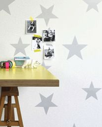 Stars Silver/White från Hibou Home