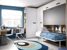 Habitaciones Juveniles diseñadas para la vida real. http://www.rimobel.es/index.php/es/rimobel/mundo-joven