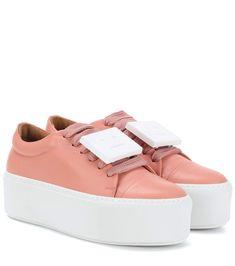 Acne Studios - Exclusive to mytheresa.com – Drihanna nappa leather platform sneakers | mytheresa.com