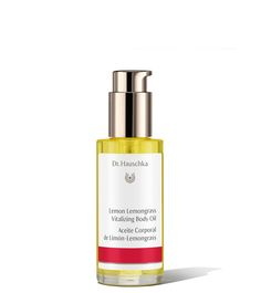 """Zink Magazine Editor Pick, Dr. Hauschka Lemon Lemongrass Vitalizing Body Oil: """"This is the season I love oils! They warm you up after your morning shower—just before you have to head out into the cold. And for night baths or showers, it cradles you like a baby."""""""