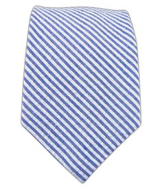 Seersucker - Blue (Cotton Skinny) | Ties, Bow Ties, and Pocket Squares | The Tie Bar