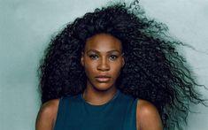 Download wallpapers Serena Williams, 4k, American tennis player, portrait, photoshoot, fashion model, USA