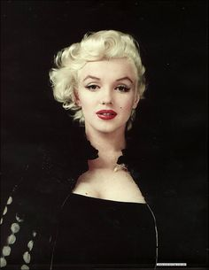 "Marilyn Monroe In A Milton Greene Photo. In The Movie ""NEVER LET ME GO."""
