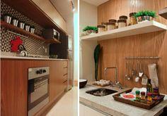 cozinha bonita moderna atual tendencia contemporanea decor madeira