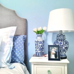 Blue Bedroom...remember this paint color