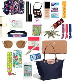 """""""WhAt's In My~LoNgChAmP"""" by karlab-891 on Polyvore"""