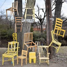 Chairy Garden in Denton