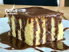 Çikolata Soslu Portakallı Nemli Kek