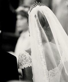 I love the back of her wedding dress! (prinsess Madeleine)