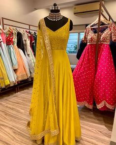 Book ur dress now Completely stitched Customised in all colours For booking ur dress plz dm or whatsapp at 91 9831775535 Lehenga Designs, Kurta Designs, Kurti Designs Party Wear, Indian Gowns Dresses, Indian Fashion Dresses, Dress Indian Style, Anarkali Dress Pattern, Anarkali Gown, Long Anarkali