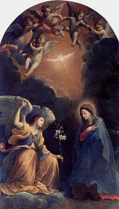 L'annunciazione by Guido Reni Today is the feast on the Annunciation, when the Church celebrates the announcement by the archangel Gabriel to Mary that she would become the mother of Jesus.
