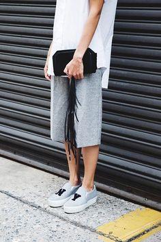 Image of 對白 Tee 牛仔褲的穿搭已經厭倦了嗎?這些造型會是你今季的穿搭新靈感