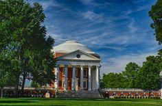 The Rotunda, University of Virginia University Of Virginia, Fine Art Photography, Gazebo, Trips, Outdoor Structures, Urban, Landscape, Photos, Viajes