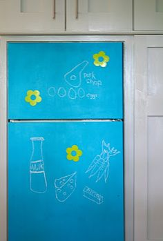 A Stylist's Life: colored chalkboard paint!!!!