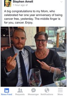 Fuck Cancer stephen amell