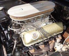 Ford 406 CID Thunderbird Tri Power V8 found on Pinterest the guy...