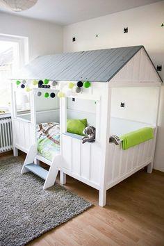 #cottonovelove #cottonballlights #home #interior #design #designforkids #scandi #scandidesign #decore #kidsroom #bunkbed