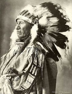 Black Bear. Oglala Lakota. 1898. Photo by F.A. Rinehart. Source - Smithsonian National Museum of the American Indian.