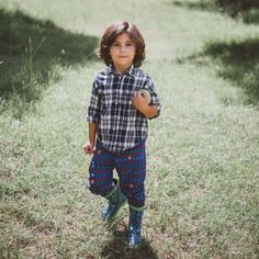 Featuring our Jammer Pants + the cutest boy around.