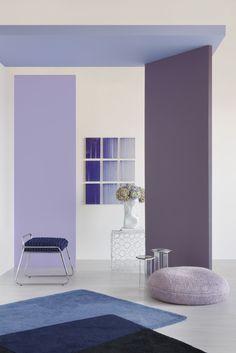 Suvinil apresenta estudo de tendências e revela a cor para 2018 | CASA CLAUDIA Pink Room, Room Interior, Interior Decorating, Decorating Ideas, Palette, Purple, House, Terra, Interiors