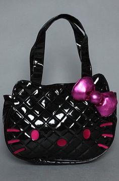 45dd6ab32e6 Bolsas De Asas Acolchadas, Bolso De Hello Kitty, Bolsas, Cosas Creativas,  Totoro