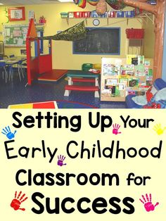 Your classroom environment influences your students' learning, mood, and behavior so it is very important that you think about how and what it is communicating to young children when setting it up for those all important first days of school. Find tips on setting up your early childhood classroom for success. https://lessons4littleones.com/2016/08/05/setting-up-your-early-childhood-classroom-for-success/