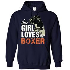 This Girl Loves Her Boxer T-Shirts, Hoodies. CHECK PRICE ==► https://www.sunfrog.com/Pets/This-Girl-Loves-Her-Boxer-NavyBlue-73222544-Hoodie.html?id=41382
