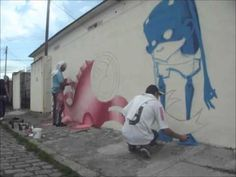 Watch Brazilian Graffiti Art being Born - Galo and Ignoto collaborate in this time lapse video to create a single street artwork that combines both of their talents and styles.