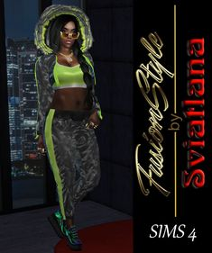 FusionStyle by Sviatlana is creating Sims 4 custom content Dress With Jean Jacket, Jacket Jeans, Sims 4 Glasses, Sims 4 Seasons, Free Sims 4, Life Sim, Ibiza Party, Face Hair Removal, Best Sims