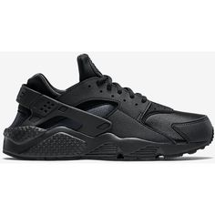 NIKE AIR HUARACHE ($100) ❤ liked on Polyvore featuring shoes, sneakers, huaraches, nike, nike footwear and nike shoes