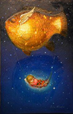 Victor Nizovtsev, Magic Realism, Futuristic Art, Fairytale Art, Mermaid Art, Illustration Art, Illustrations, Art Inspo, Fantasy Art